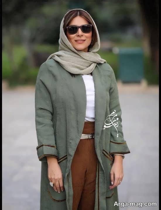 سحر دولتشاهی در مراسم رونمایی از آلبوم افسانه چشم هایت همایون شجریان