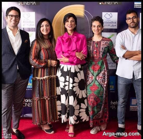 سارا بهرامی در نهمین جشنواره فیلم های ایرانی