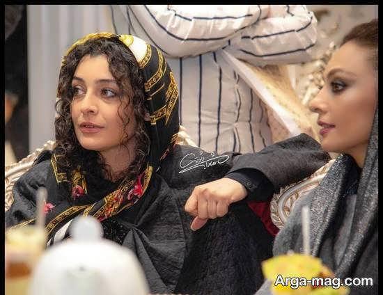 ساره بیات در مراسم سپاس تهیه کنندگان سینما