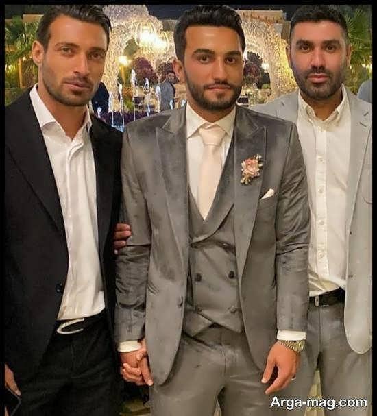 مراسم جشن عروسی سیامک نعمتی و همسرش الناز با حضور دوستان پرسپولیسی اش