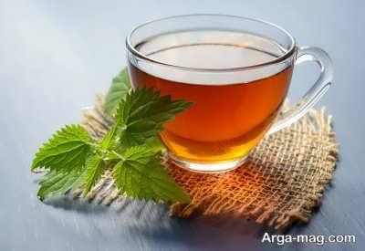 لاغری با طب سنتی با مصرف چای گزنه