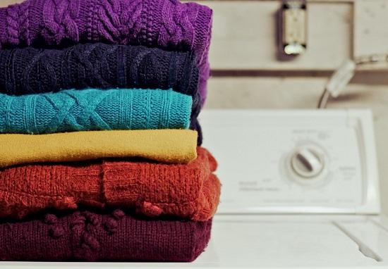 شستشوی لباس بافت