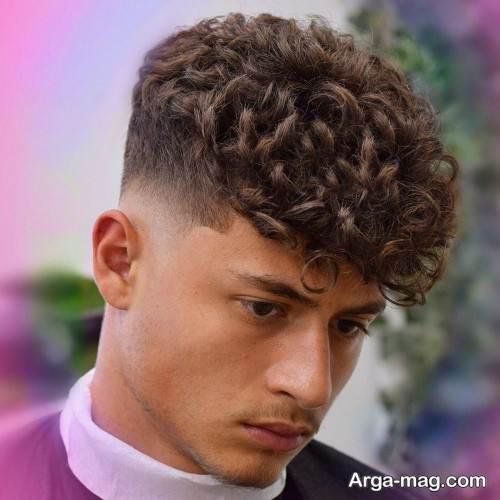 مدل موی فر کوتاه پسرانه