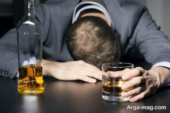 تاثیرات الکل بر تشدید افسردگی و اضطراب