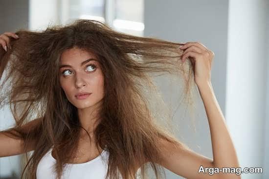 جلوگیری از وز شدن مو