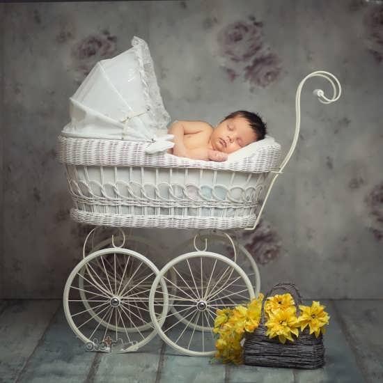تصویر پروفایل جدید نوزاد دختر
