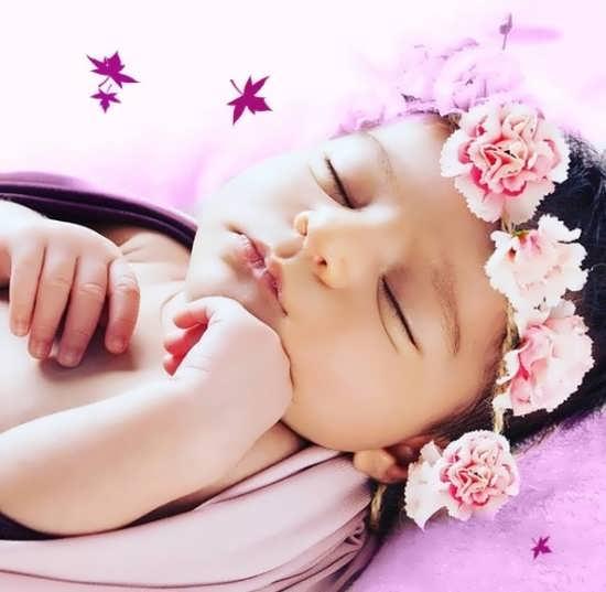 عکس نوزاد دوست داستنی و ناز برای پروفایل