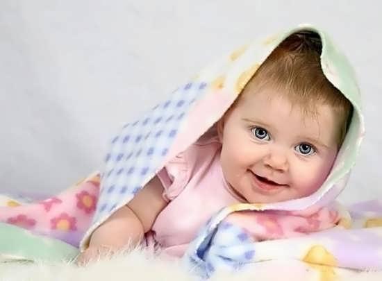 عکس پروفایل نوزاد دختر با ایده جدید