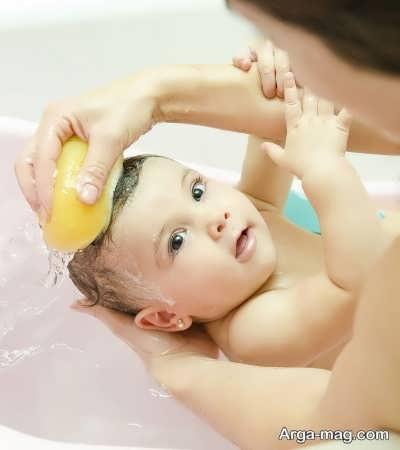 عدم استفاده از صابون های شیمیایی برای شستشوی کودک