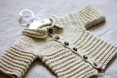 بافت آسان لباس نوزاد