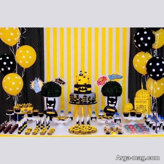 دکوراسیون جشن تولد شکیل