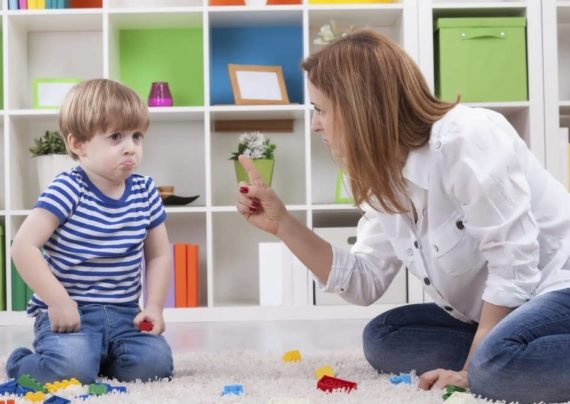 نحوه رفتار با کودک شلخته