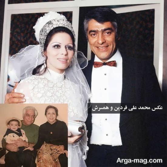 زندگینامه محمدعلی فردین و همسرش