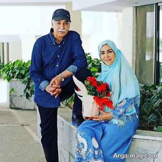 بیوگرافی مهرنوش صبرکن و همسرش محمود پاک نیت