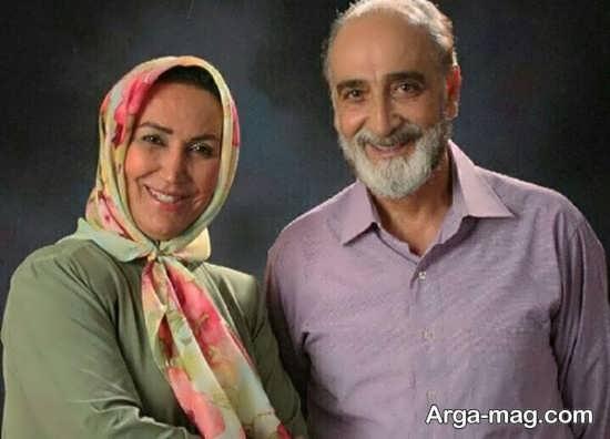 بیوگرافی مهرنوش صبرکن و همسرش