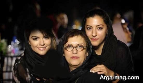 شیک ترین عکس های خانوادگی رویا تیموریان