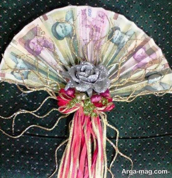 دسته گل شیک از پول