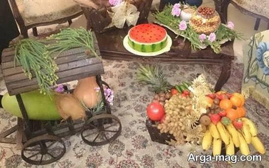 جذاب ترین تزیین شب یلدا برای عروس