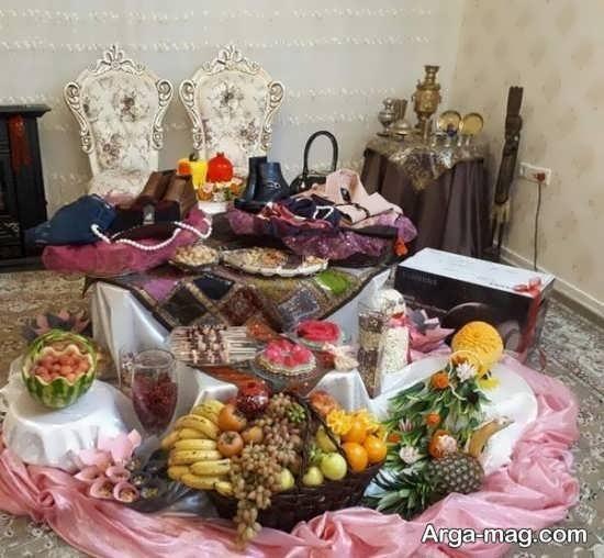 مجموعه خواستنی از تزیینات شب چله برای عروس