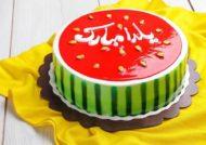 انواع تزیین کیک برای شب یلدا