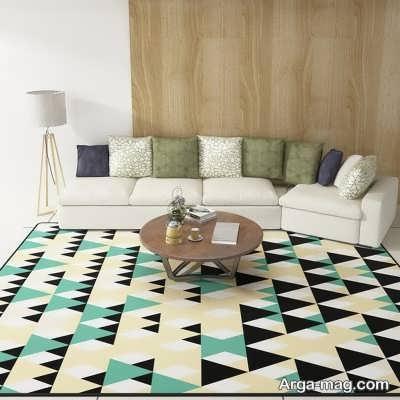 تهیه قالی برای دیزاین خانه متناسب با سایز نشیمن گاه خانه