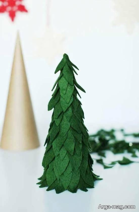 روش درست کردن درخت کریسمس زیبا