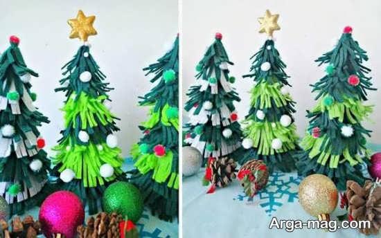 آموزش ساخت درخت کریسمس