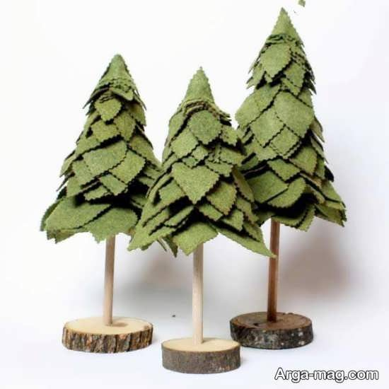 درخت کریسمس نمدی