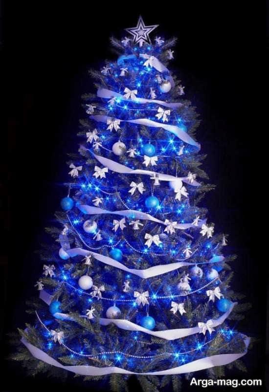 طراحی زیبای درخت کریسمس