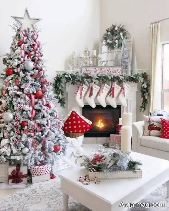 تزیینات درخت کریسمس با ایده زیبا