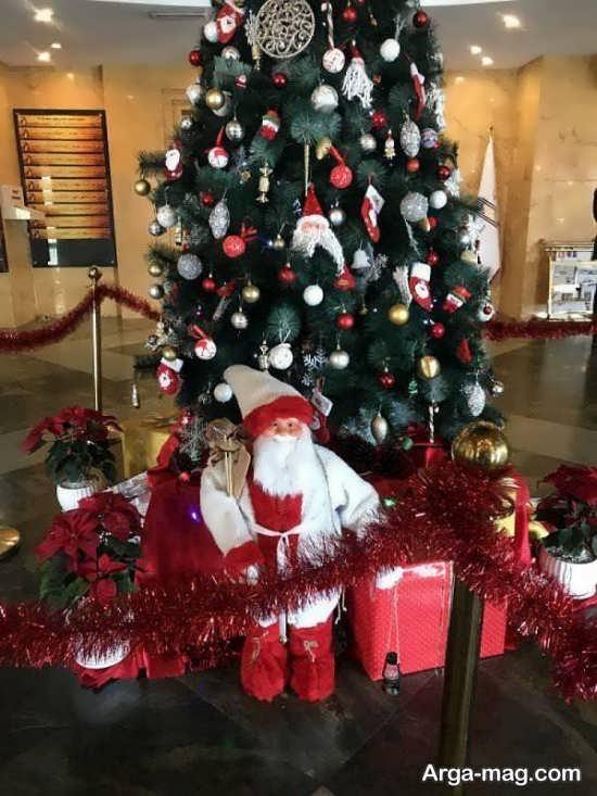 تزیینات زیبا برای درخت کریسمس