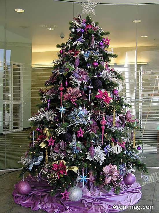 تزیینات جذاب درخت کریسمس