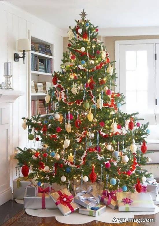 دیزاین خلاقانه درخت کریسمس