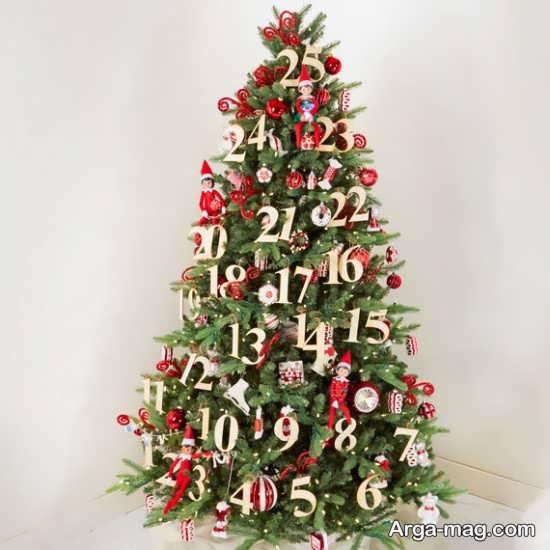 دیزاین شیک درخت کریسمس