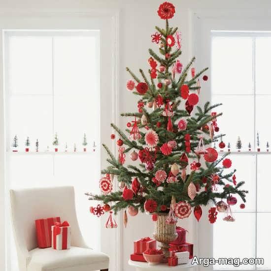 دیزاین زیبای درخت کریسمس