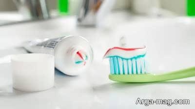 تمیز کردن زیورآلات نقره با خمیر دندان