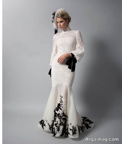 مدل لباس مجلسی سفید با استایل های جدید و لاکچری