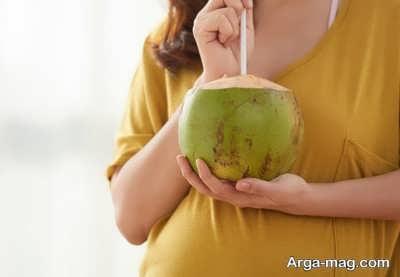 مصرف نارگیل در زمان حامله گی
