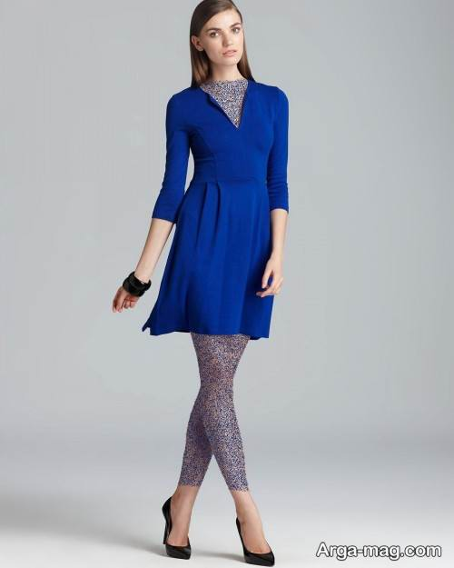 مدل لباس مجلسی رنگ آبی