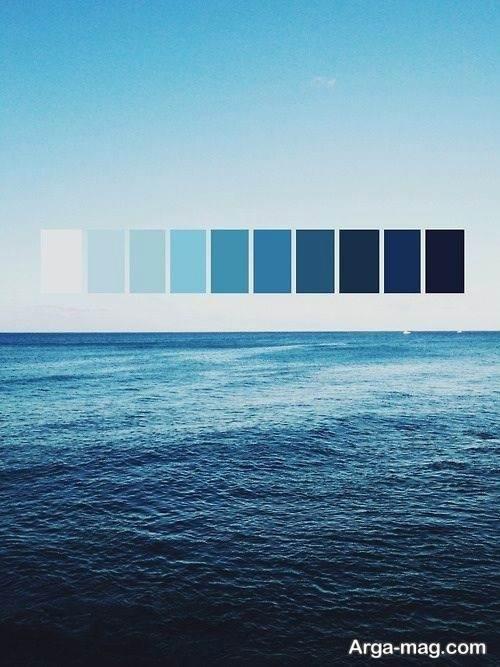 رنگ آبی کلاسیک