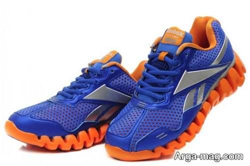 مدل کفش مردانه آبی کلاسیک