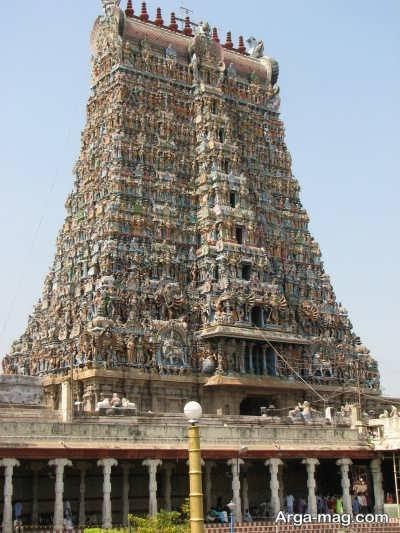 معبد آمون میناکشی در کشور هند