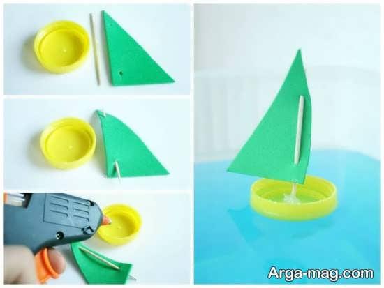 ایده های ساده برای ساخت کاردستی با خلال دندان