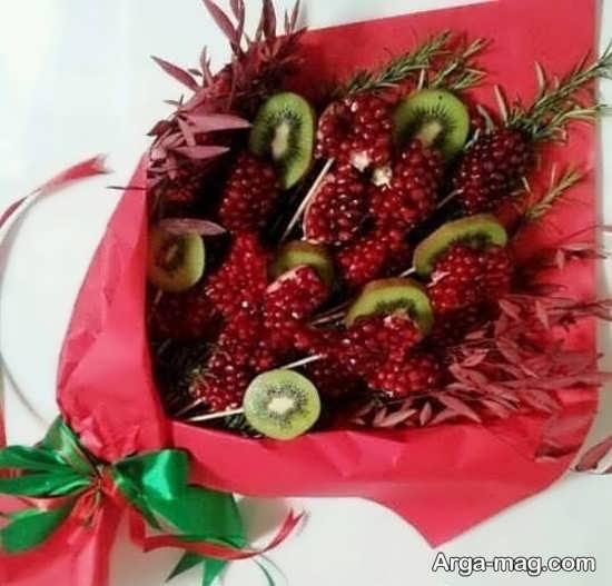 تزئین انار دونه شده