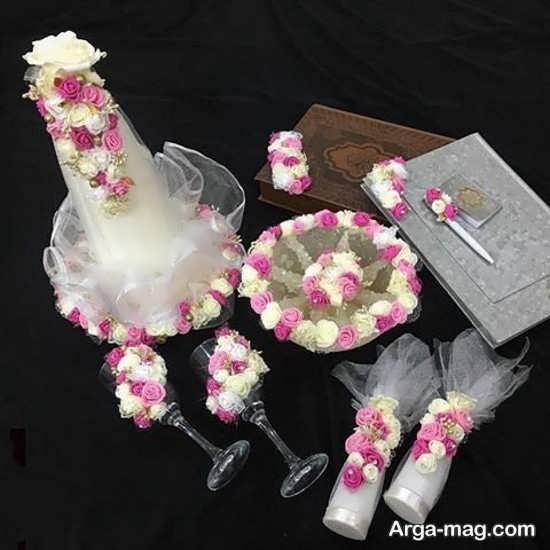 طرح های قشنگ برای تزیین بله برون عروس