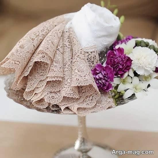 تزیین بله برون عروس با ایده های متفاوت