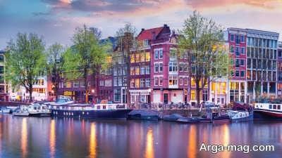 دادن مدارک مورد نیاز سفارت هلند