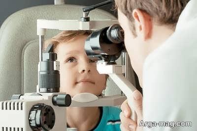 دوبینی چشم در بچه ها