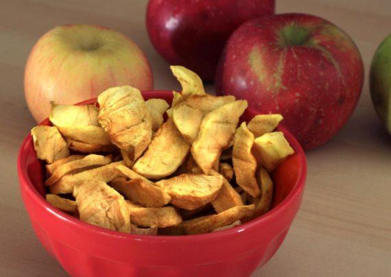 روش های ساده برای خشک کردن سیب