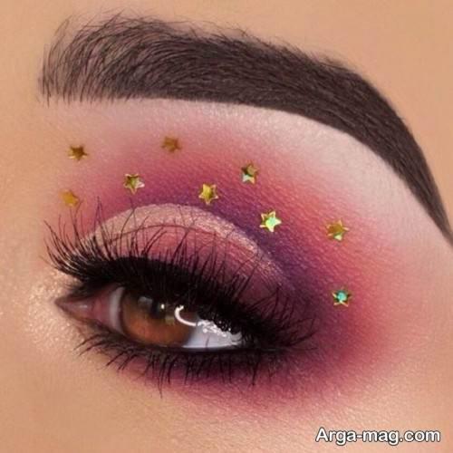 آرایش چشم مجلسی و زیبا